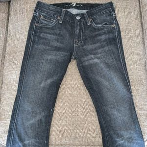 EUC 7 for all Mankind Jeans Size 25.